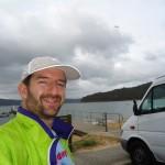 Saul Richardson at Patonga